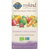 Garden Of Life Mykind Organics Women's Once Daily Caps 30
