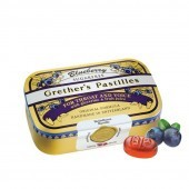 Grether's Blueberry Pastilles Sugar Free 110g