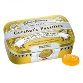 Grether's Elderflower Pastilles Sugar Free 110g