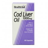 HealthAid Cod Liver Oil 1000mg Vegicaps 60