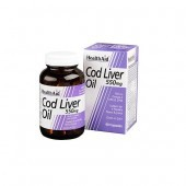 HealthAid Cod Liver Oil 550mg Capsules 90