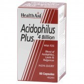 HealthAid Acidophilus Plus 4 Billion Vegicaps 60