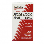 HealthAid Alpha Lipoic Acid 250mg Vegicaps 60