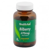 HealthAid Bilberry 275mg tablets 30