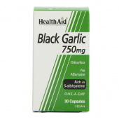 HealthAid Black Garlic 750mg Capsules 30
