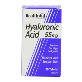 HealthAid Hyaluronic Acid 55mg tablets 30