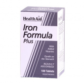 HealthAid Iron Formula Tablets Plus 100