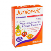 HealthAid Junior-Vit Chewable Tablets 30