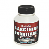 HealthAid L-Arginine with L-Ornithine 300mg tablets 60