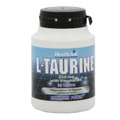 HealthAid L-Taurine 550mg tablets 60