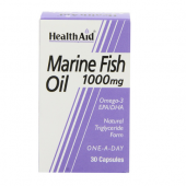 HealthAid Marine Fish Oil 1000mg Capsules 30