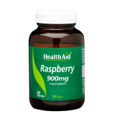 HealthAid Raspberry 900mg Vegicaps 30