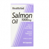 HealthAid Salmon Oil 1000mg Capsules 60