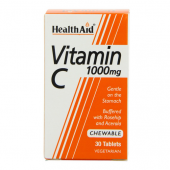 HealthAid Vitamin C 1000mg Chewable Tablets 30