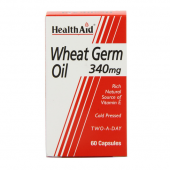 HealthAid Wheat Germ Oil 340mg Capsules 60