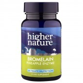 Higher Nature Bromelain Vegetable Capsules 30