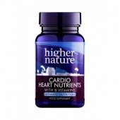 Higher Nature Cardio Health Nutrients Vegetable Capsules 120