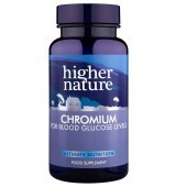 Higher Nature Chromium 200ug Vegetable Tablets 90