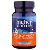 Higher Nature Co-Enzyme Q10  30mg Vegetable Tablets 90