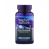Higher Nature Glutamine Vegetable Capsules 90