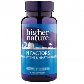 Higher Nature H Factors Vegetable Capsules 180