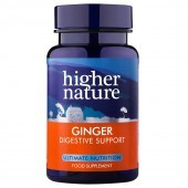 Higher Nature High Strength Ginger 300mg Vegetable Capsules 60