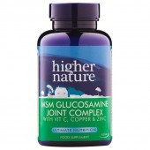 Higher Nature MSM Glucosamine Joint Complex Vegitabs 240