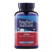 Higher Nature MSM Vegetarian Tablets 180
