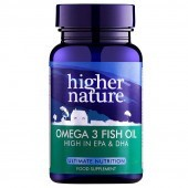 Higher Nature Omega-3 Fish Oil Capsules 180