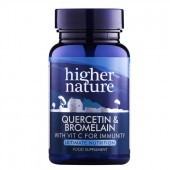 Higher Nature Quercetin & Bromelain Vegetable Tablets 60