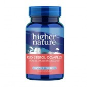Higher Nature Red Sterol Complex Vegetable Capsules 30