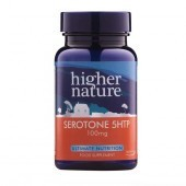 Higher Nature Serotone 5-HTP 100mg Vegetable Capsules 90