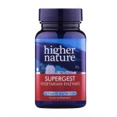 Higher Nature SuperGest Vegetable Capsules 30