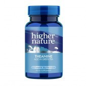 Higher Nature Theanine Vegetable Capsules 30