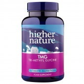 Higher Nature TMG (Tri-Methyl-Glycine) Vegetable Capsules 90