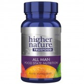Higher Nature True Food All Man Vegetable Capsules 180