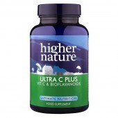 Higher Nature Ultra C Plus Vegetarian Tablets 90