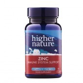 Higher Nature Zinc Vegetarian Tablets 90