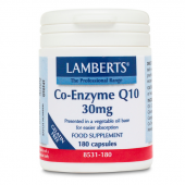 Lamberts Co-Enzyme Q10 30mg Capsules 180