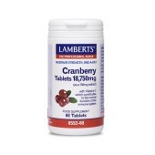 Lamberts Cranberry 18,750mg Tablets 60