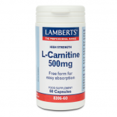 Lamberts L-Carnitine 500mg Caps 60