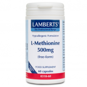 Lamberts L-Methionine 500mg Caps 60