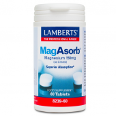 Lamberts MagAsorb 150mg Tablets 60