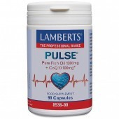 Lamberts Pulse Pure Fish Oil & CoQ-10 Capsules 90