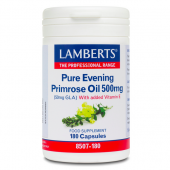Lamberts Pure Evening Primrose Oil 500mg Caps 180