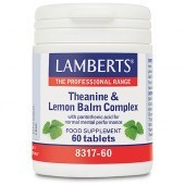 Lamberts Theanine & Lemon Balm Complex Tablets 60