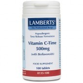 Lamberts Vitamin C 500mg Time Release Tablets 100