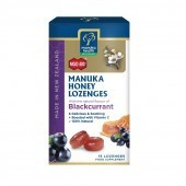 Manuka Health MGO 400+ Manuka Honey Lozenges with Blackcurrant 65g
