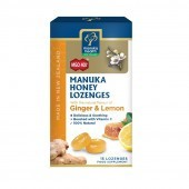 Manuka Health MGO 400+ Manuka Honey Lozenges with Ginger & Lemon 65g