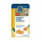 Manuka Health MGO 400+ Manuka Honey Lozenges with Lemon 65g